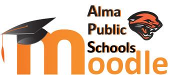 Alma Moodle Logo